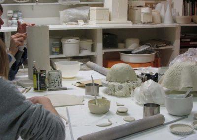 Cours de céramique adultes
